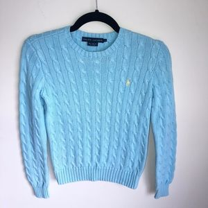 Ralph Lauren Cable Knit Sweater Size Small
